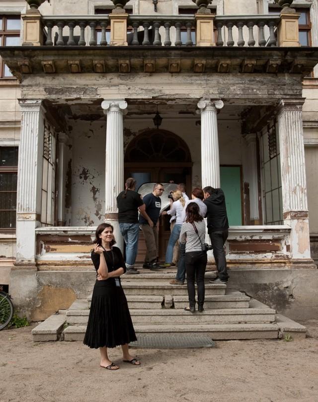Marcelinka pozuje, fot. Iwonka Aleksandrowicz
