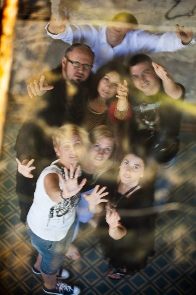 nasz najfajowszy grupen fot, dzięki pomysłowi Emilii, wykonaniu Roberta Klasińskiego