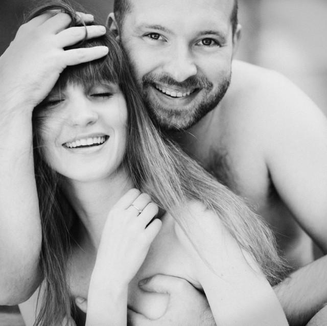 ...a jednak jest miłość... Agnieszka Radzikowska, Dariusz Chojnacki, fot. Marcelina Oczkowska