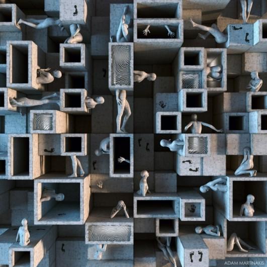 Adam Martinakis niczym neuro architekt przestawia cegiełki w mojej głowie.