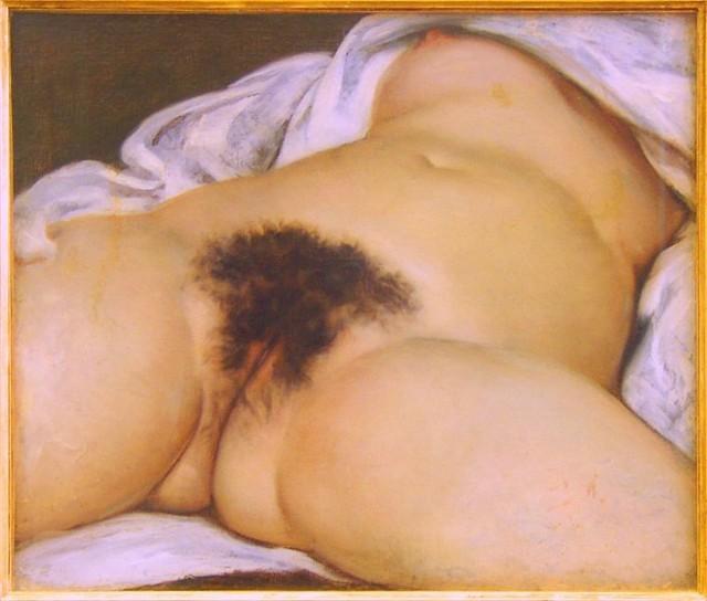 """Courbet """"Początek świata"""""""