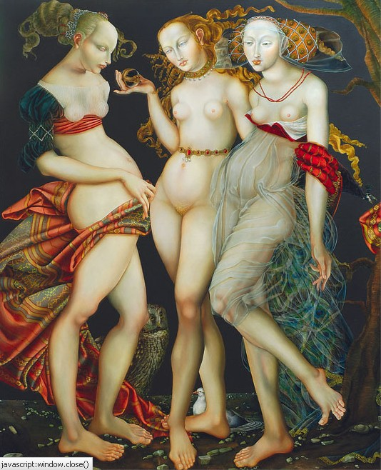I na deser jeszcze jedno ujęcie mitologicznych Gracji mojej ulubionej Joanny Chrobak