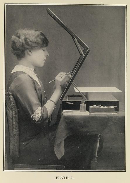 Sztuka retuszu negatywów fotograficznych, Robert Johnson, 1913