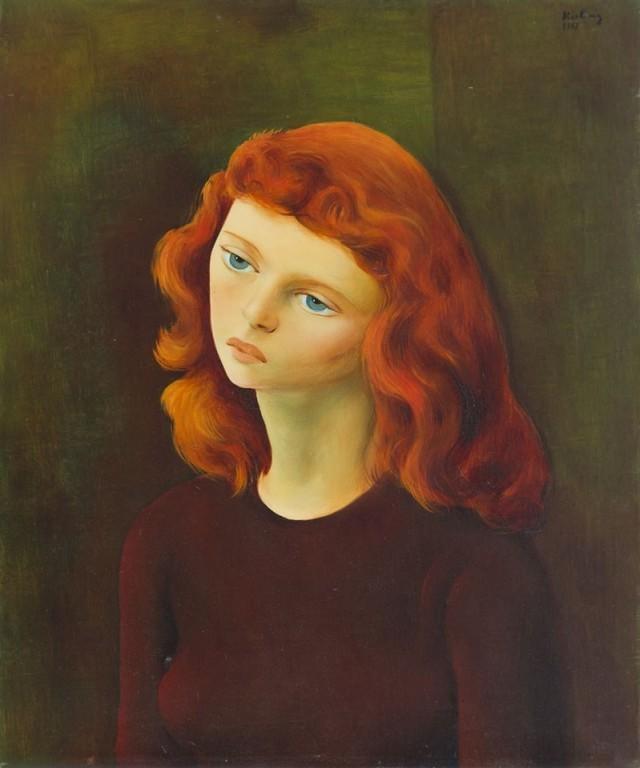 """Mojżesz Kisling """"Mona Luisa"""""""