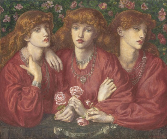 "Dante Rossetti ""Rosa Triplex"""